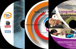 DVD Face Labels designed by RKD Films